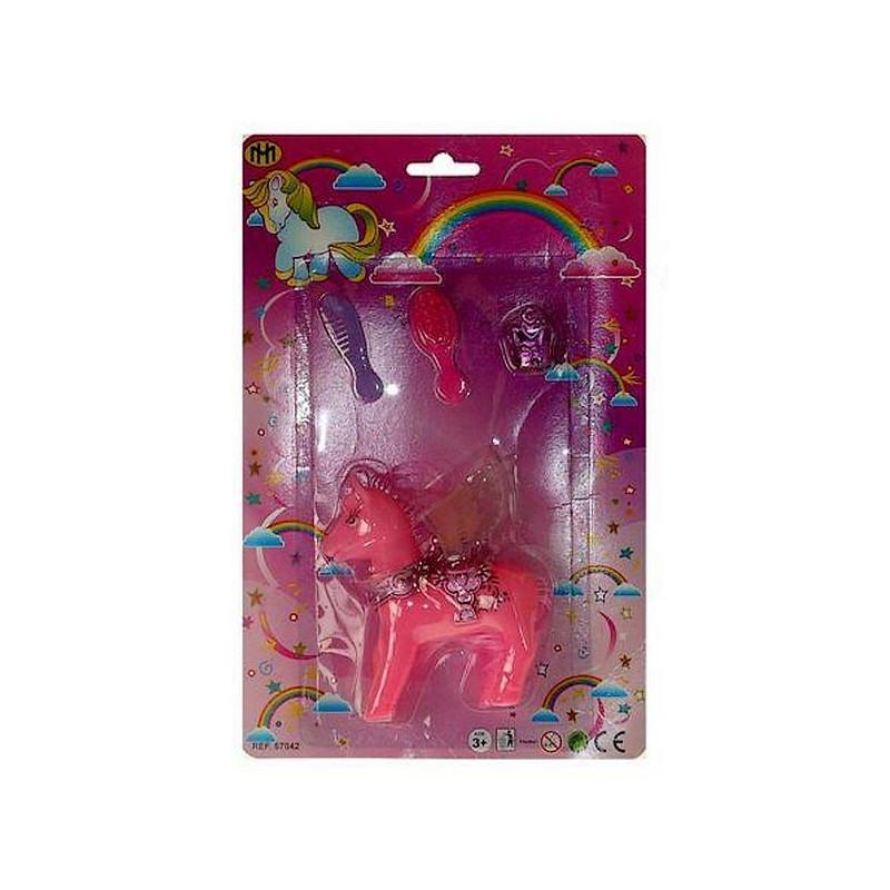 Poney 10 cm avec accessoires Jouets et articles kermesse 67042