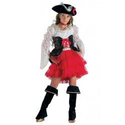 Déguisement pirate des 7 mers fille 8 ans Déguisements 21008