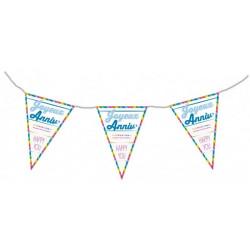 Guirlande fanion Joyeux Anniversaire Déco festive 40130552