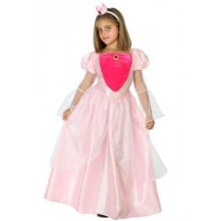 Déguisement princesse rose avec serre-tête fille Déguisements 39470-