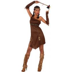 Déguisement indienne avec franges femme taille XL Déguisements 39511