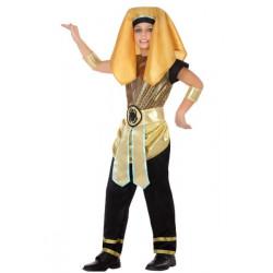 Déguisement pharaon noir et or garçon Déguisements 5683-