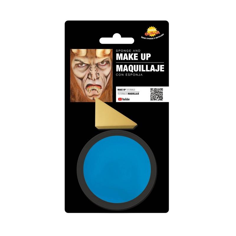 Maquillage bleu ciel avec éponge Accessoires de fête 15623