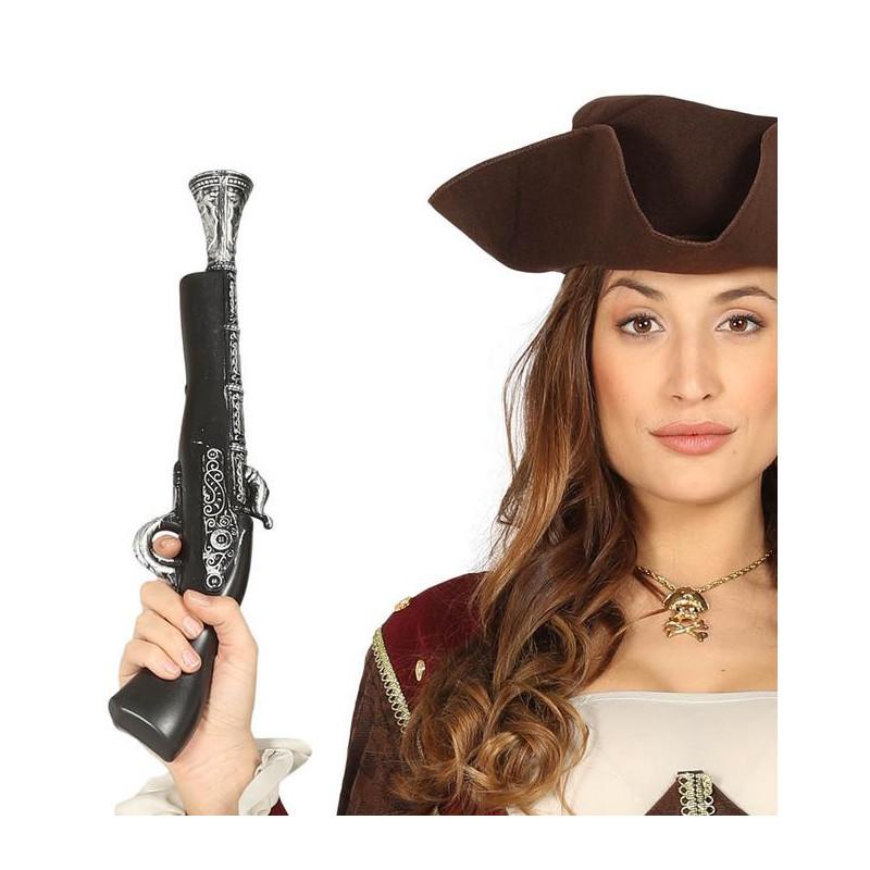 Pistolet pirate 40 cm Accessoires de fête 16572