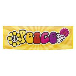 Bannière peace an love 220 cm Déco festive 44503