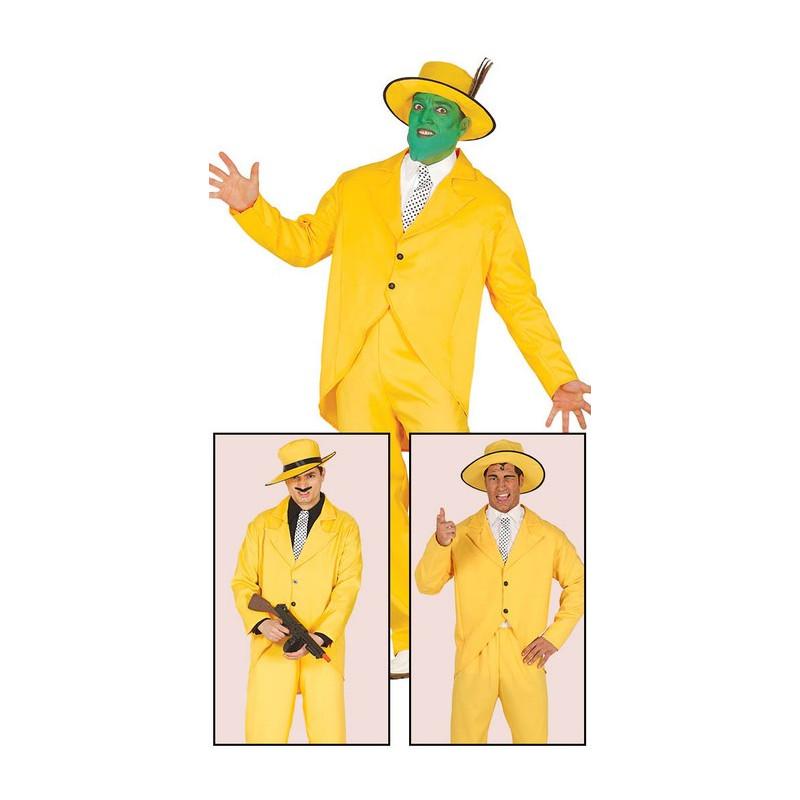 Déguisement gangster jaune homme taille M Déguisements 84922