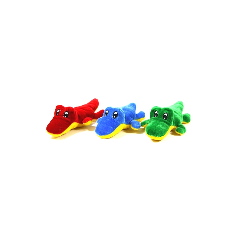Peluche crocodile allongé /24/ Jouets et articles kermesse 4768