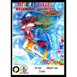 Pistolet bulles de savon dauphin lumineux Jouets et kermesse 21378