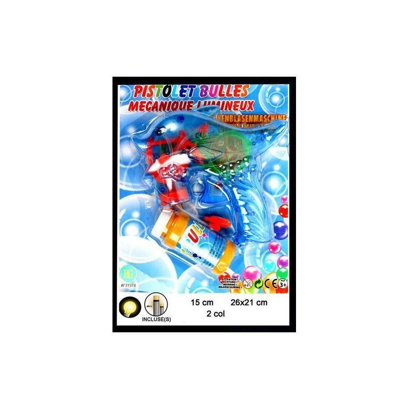 Pistolet bulles de savon dauphin lumineux Jouets et articles kermesse 21378