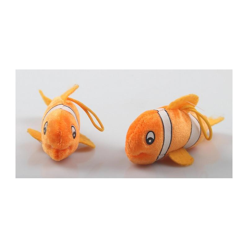 Peluche poisson clown 15 cm /60/ Jouets et articles kermesse 5826
