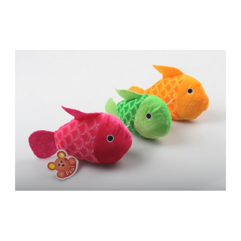 Peluche poisson avec écailles 15 cm Jouets et articles kermesse 5846