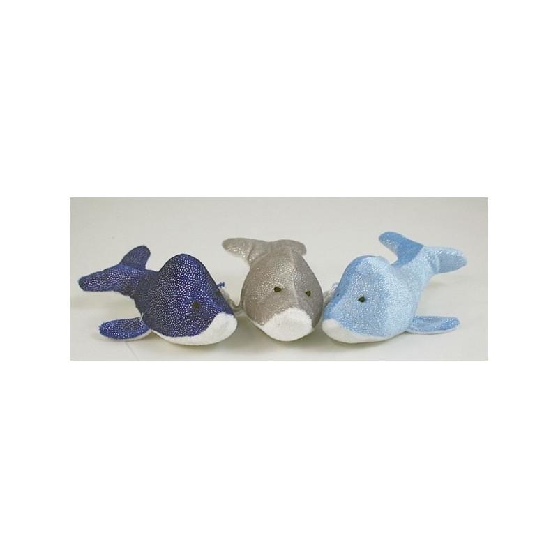 Peluche dauphin bébé 15 cm Jouets et articles kermesse 5883