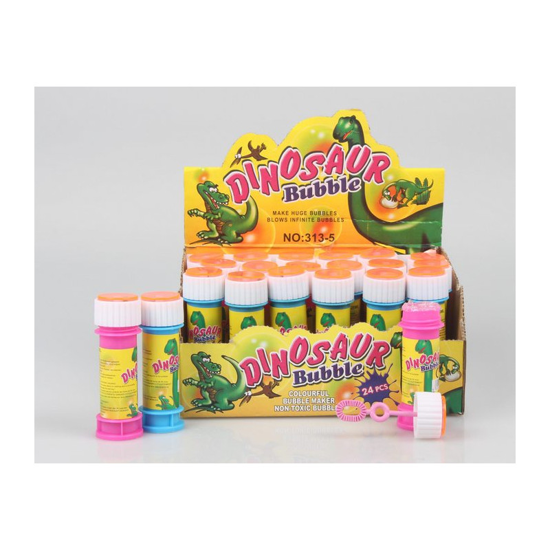 Lot 24 bulles de savon dinosaure 25 ml Jouets et kermesse 6714-LOT