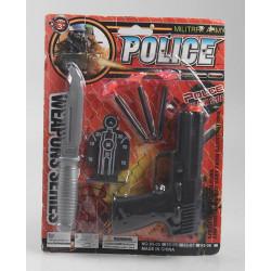 Panoplie pistolet à flèches avec accessoires Jouets et articles kermesse 6887