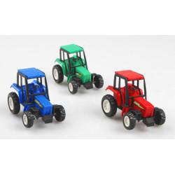 Tracteur plastique 7 cm vendu par 24 Jouets et articles kermesse 8048