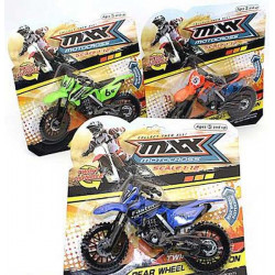 Moto-cross friction 10 cm Jouets et articles kermesse 8051