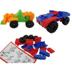Briques de construction pour véhicule vendues par 24 Jouets et articles kermesse 8205-LOT