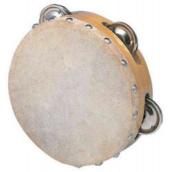 Tambourin en peau Jouets et articles kermesse 21517