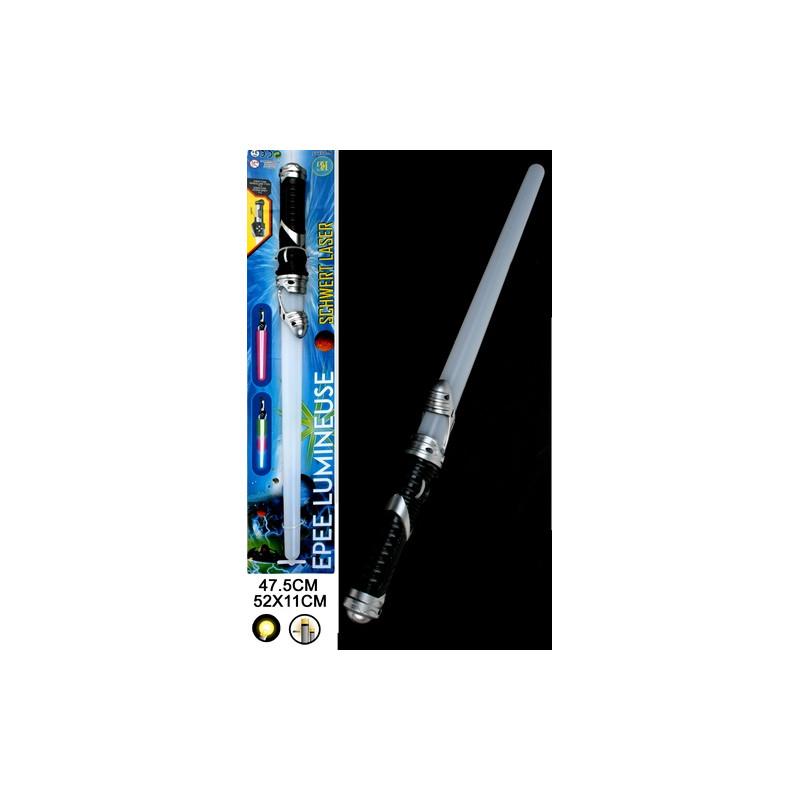Epée laser lumineuse 47 cm Jouets et articles kermesse 15155