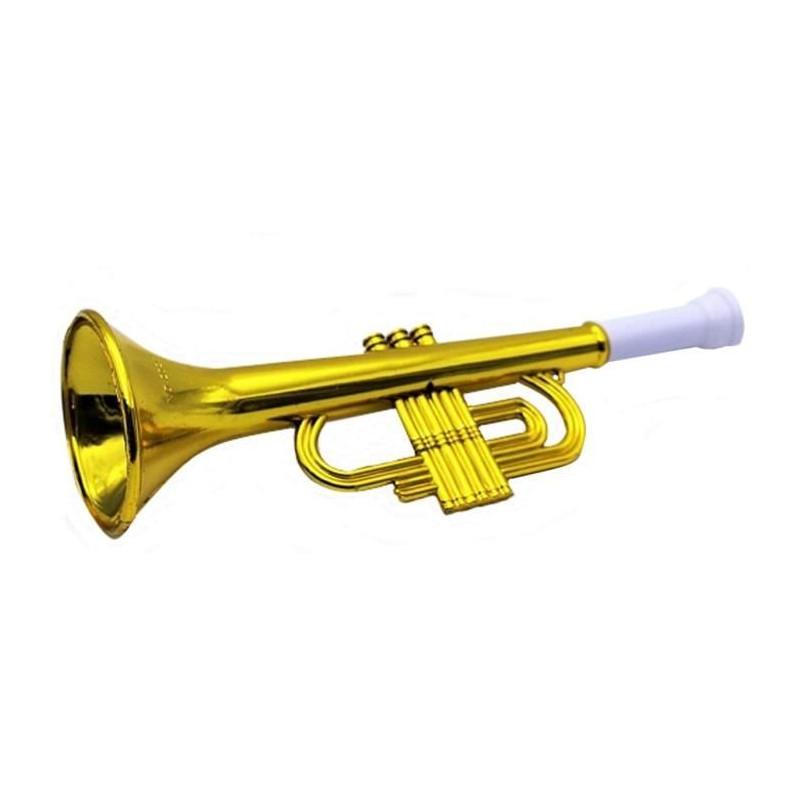 Trompette dorée 26 cm Jouets et articles kermesse 9159PAUL