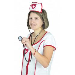 Stéthoscope plastique infirmière Accessoires de fête 865730