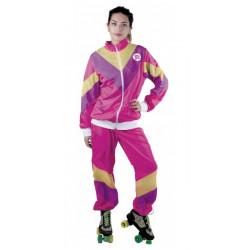 Déguisement jogging rose 80's femme taille M-L Déguisements 865114