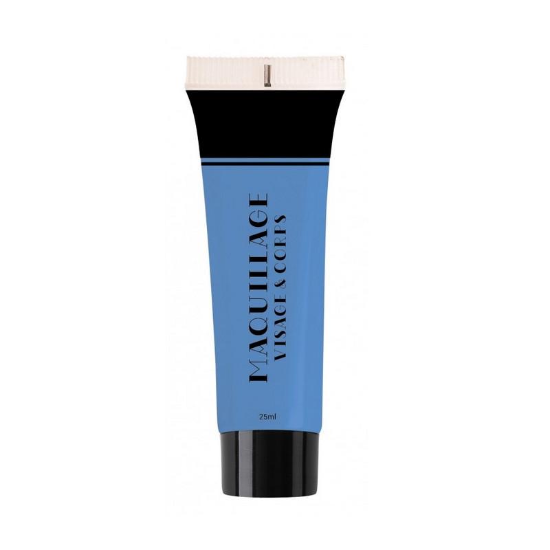Maquillage à l'eau 25 ml bleu Accessoires de fête 90613