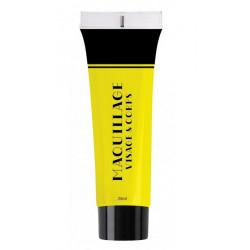 Maquillage à l'eau 25 ml jaune Accessoires de fête 90615