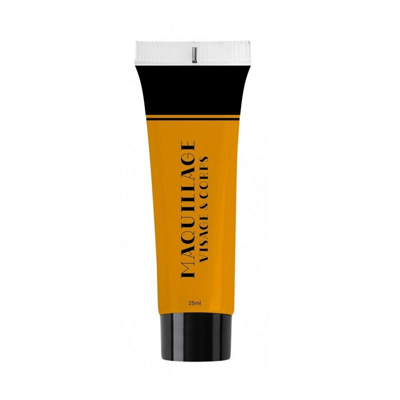 Maquillage à l'eau 25 ml orange Accessoires de fête 90616