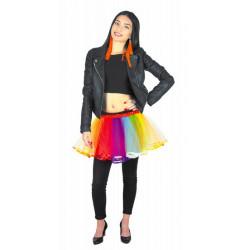 Tutu multicolore femme taille unique Accessoires de fête 90840