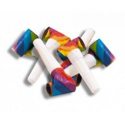 Sachet 6 sans-gênes multicolores Déco festive 40132126
