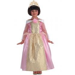 Déguisement princesse rose et or fille 6-7 ans Déguisements 68331