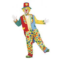 Déguisement clown luxe homme taille L Déguisements 84368