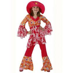Déguisement hippie rose fille 5-6 ans Déguisements 95617
