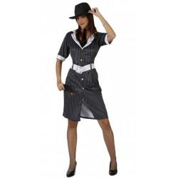 Déguisement gangster sexy femme taille M-L Déguisements 96857