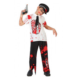 Déguisement policier zombie garçon 4-6 ans Déguisements 22770