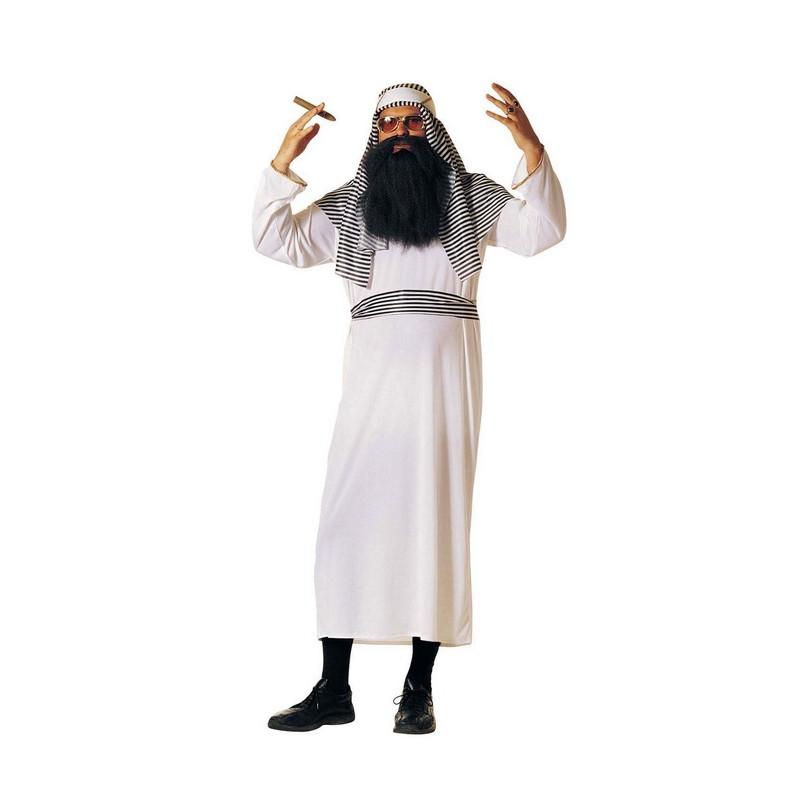 Déguisement luxe Sheikh arabe blanc homme Déguisements 79400