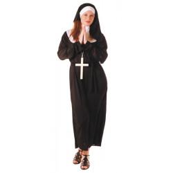 Déguisement religieuse femme taille unique Déguisements 8728932