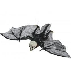 Squelette avec ailes de chauve souris à suspendre Déco festive 9012