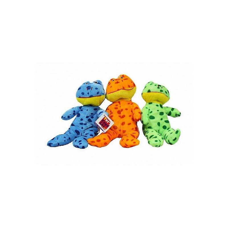 Peluche grenouille fluo 24 cm Jouets et articles kermesse 1123