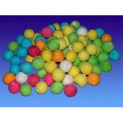 Déco festive, Sachet de 200 boules multicolores, 22048, 2,50€
