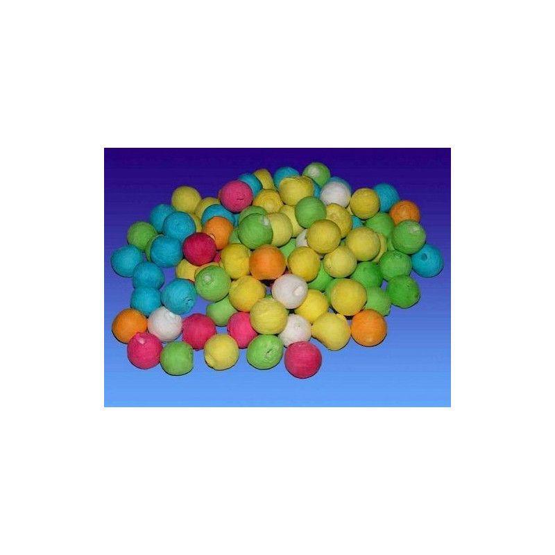 Sachet de 200 boules multicolores Déco festive 22048