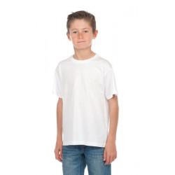 T-shirt blanc coton enfant mixte Accessoires de fête T300BLANC