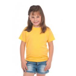 T-shirt jaune coton enfant mixte Accessoires de fête T300JAUNE