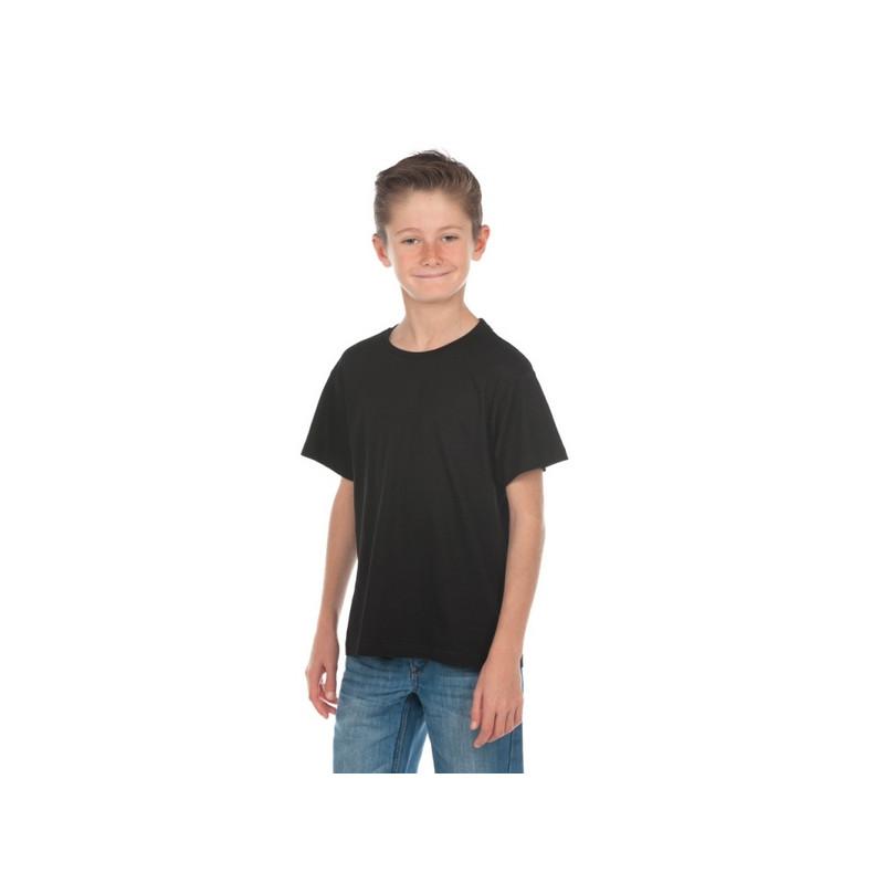 T-shirt noir coton enfant mixte Accessoires de fête T300NOIR