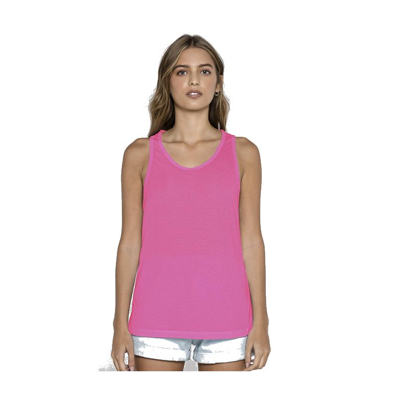 T-shirt fuchsia dos dentelle femme Accessoires de fête BEAUTY-FUCHSIA