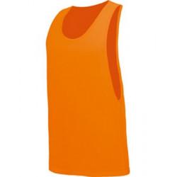 T-shirt débardeur orange fluo UV adulte Accessoires de fête TABU-ORANGE