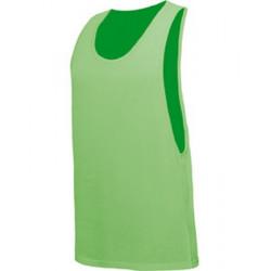 T-shirt débardeur vert fluo UV adulte Accessoires de fête TABU-VERT
