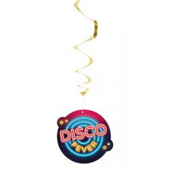 Set 2 vivartelles disco fever 85 cm Déco festive 00754