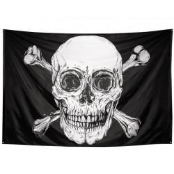 Drapeau pirate XXL 300 x 200 cm Déco festive 74110